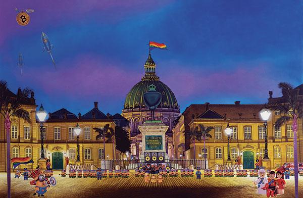 Bilde av Amalienborg Av Artpusher