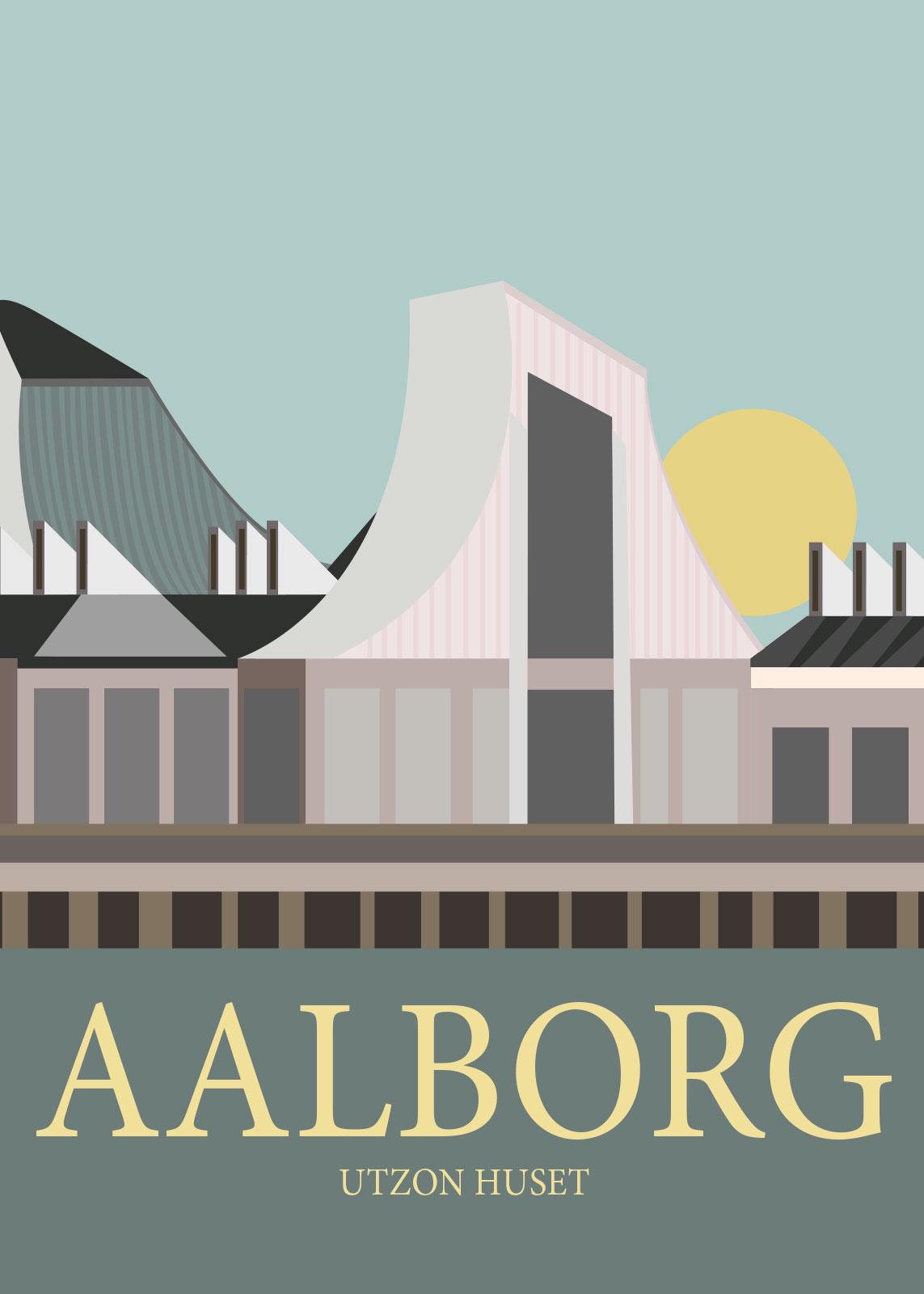 Bilde av Aalborg Av Rikke Axelsen