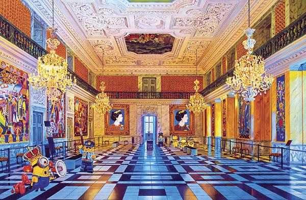 Bilde av Christiansborg Slot Av Artpusher