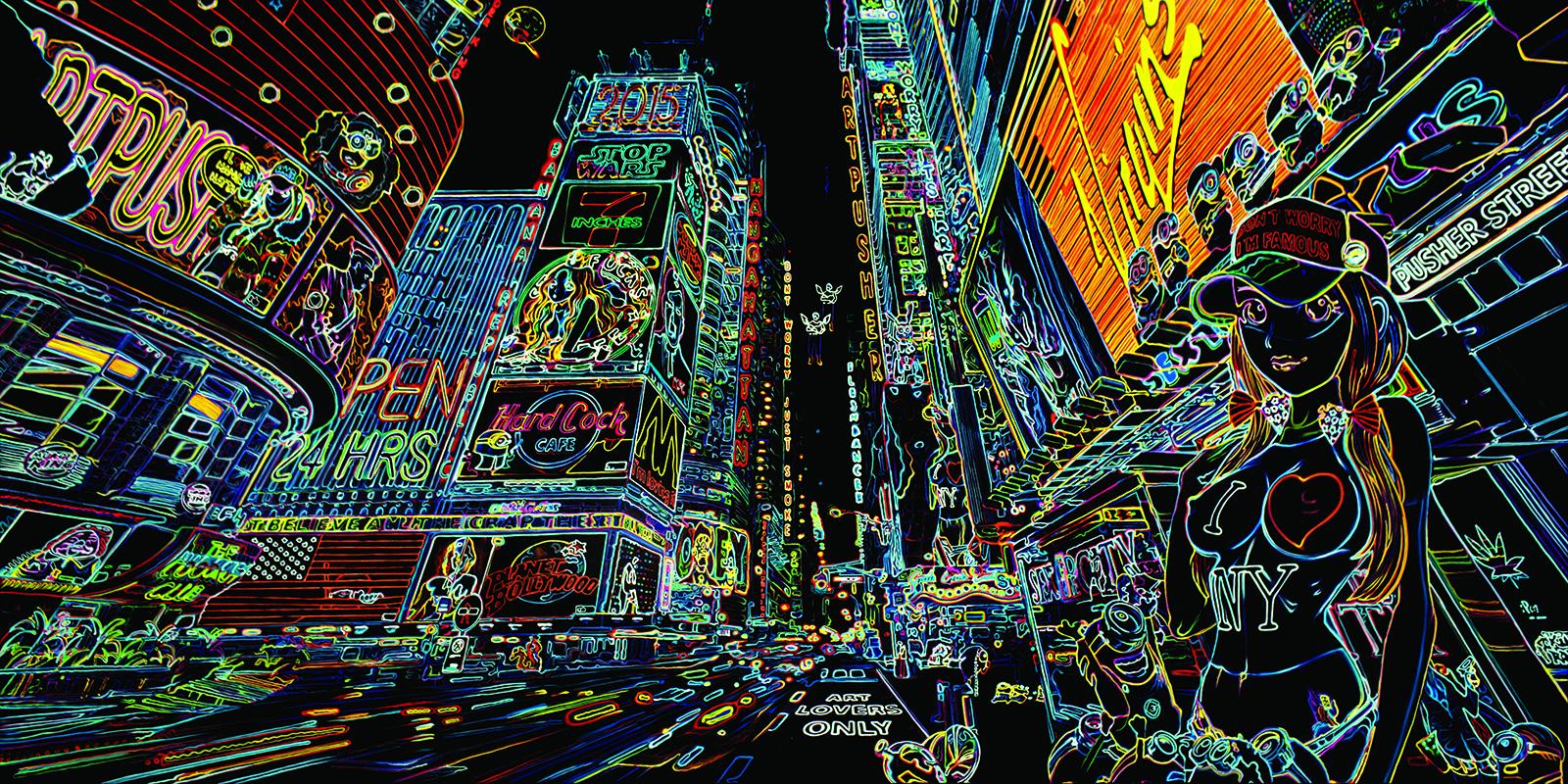 Bilde av Famous Neon Av Artpusher
