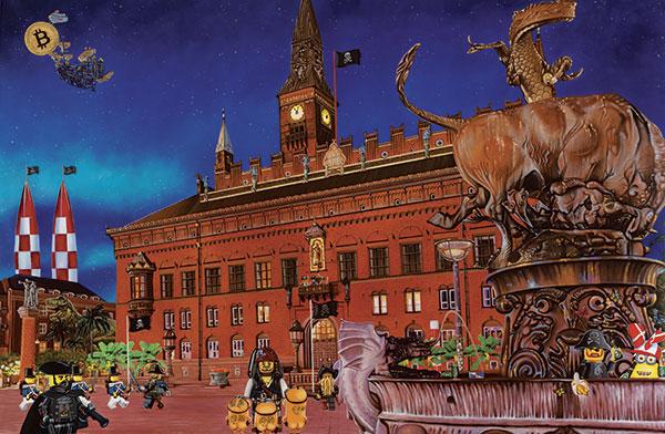 Bilde av Rådhuspladsen Av Artpusher