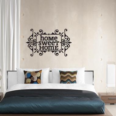 Bilde av Home Sweet Home Wallsticker Av Alan Smithee, 60x37 Cm